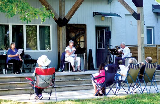 Harbor Country Singers Sing Along
